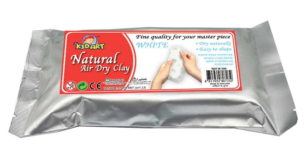 Natural Clay Bar 500g - White
